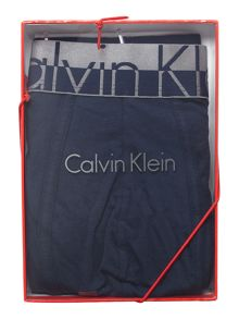 Calvin Klein Plain magnetic cotton trunk