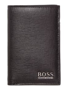 Hugo boss saffiano small billfold wallet