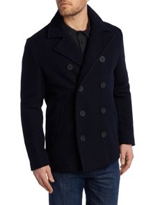 Original Penguin Lance wool peacoat