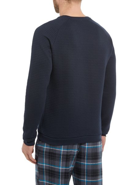 Hugo Boss Quilted Sweat Top