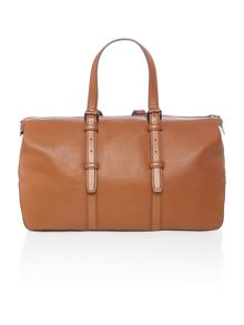 Hugo Boss Hugo boss large leather holdall bag