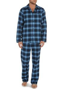 Flannel Check Boxed PJ Set