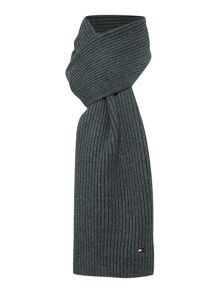 Tommy Hilfiger Cotton cashmere mix scarf