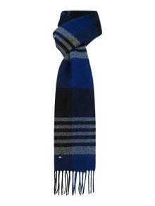 Tommy Hilfiger Caleb large check scarf