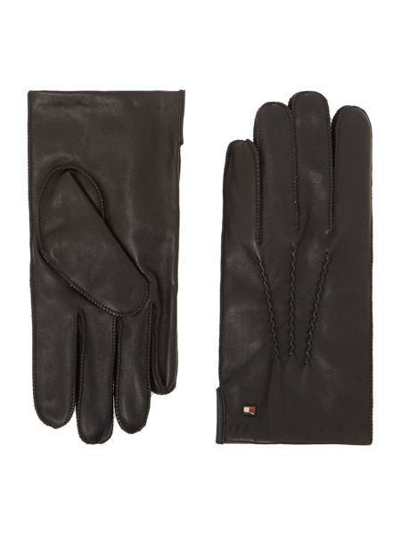 Tommy Hilfiger Leather gloves in gift box