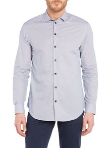 Armani Collezioni Slim All Over Geo Print Shirt