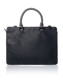 Ted Baker Imbers contrast detail document bag