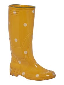 Dickins & Jones Polka dot small welly boot