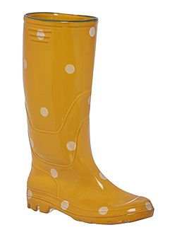 Polka dot small welly boot