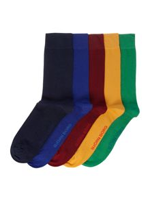 Bjorn Borg 5 pack of multi-coloured socks