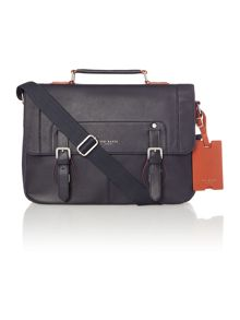 Ted Baker Miamore contrast edge paint satchel