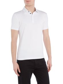 Armani Collezioni Stretch Polo Top