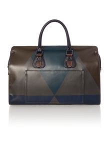 Ted Baker Harleqn printed leather holdall
