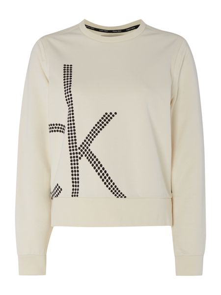 Calvin Klein Long sleeve jala logo sweat top
