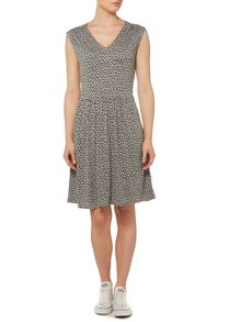 Dickins & Jones Polka Dot Tie Dress