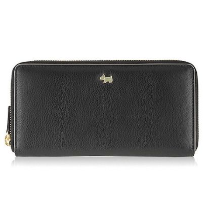 Radley Blair large black zip around purse Black