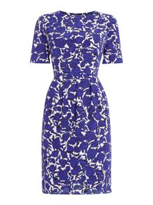 Dickins & Jones Rose Print Wrap Dress