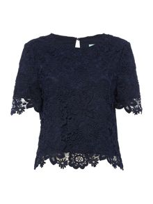 Dickins & Jones Broderie Top