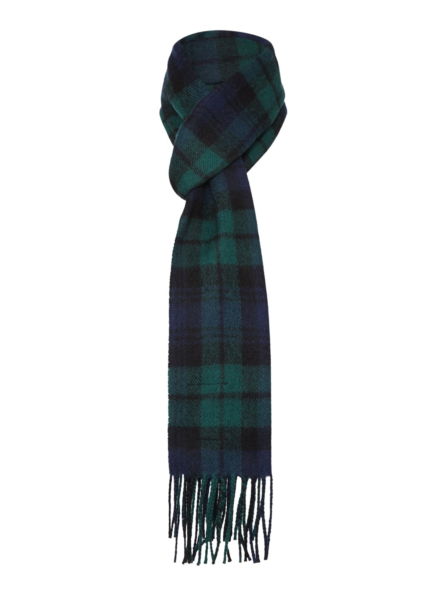 Gloverall Gloverall Lambswool Scarf, Navy
