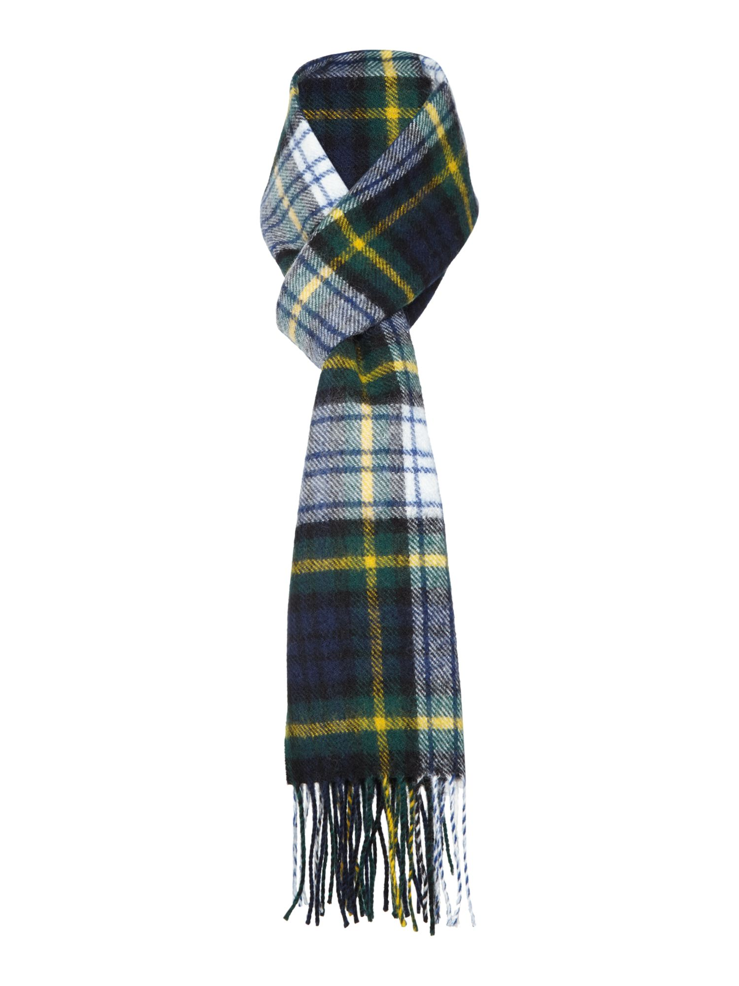 Gloverall Gloverall Lambswool Scarf, Multi-Coloured