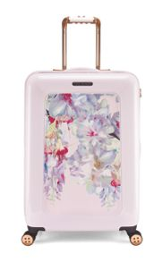 Ted Baker Hanging gardens 8 wheel hard medium suitcase