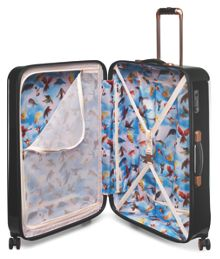 Ted Baker Stencilled stem 8 wheel hard large suitcase