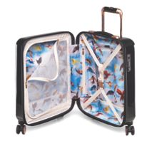 Ted Baker Stencilled stem 8 wheel hard cabin suitcase