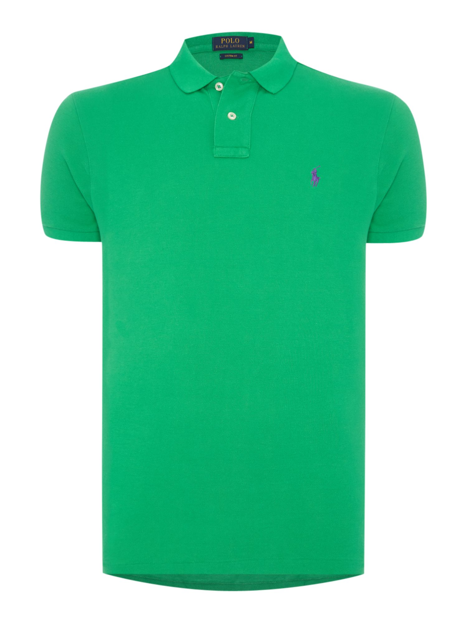 Custom fit logo polo shirt house of fraser for Personalised logo polo shirts