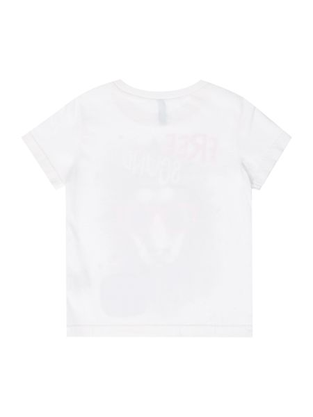 Benetton Boys Lion graphic tee