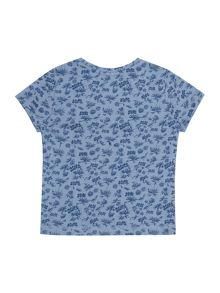 Boys Tropical print tee