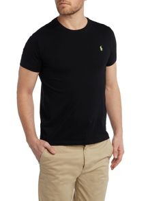 Custom Fit Crew Neck Short Sleeve T Shirt