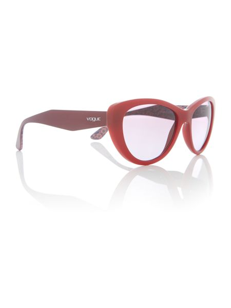 Vogue Red  cat eye  sunglasses VO2990S