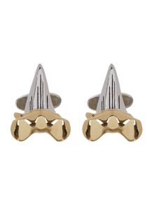 Paul Smith London Sharks tooth cufflinks