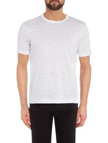 Kenneth Cole Asa Crew Neck Spot Print Tshirt