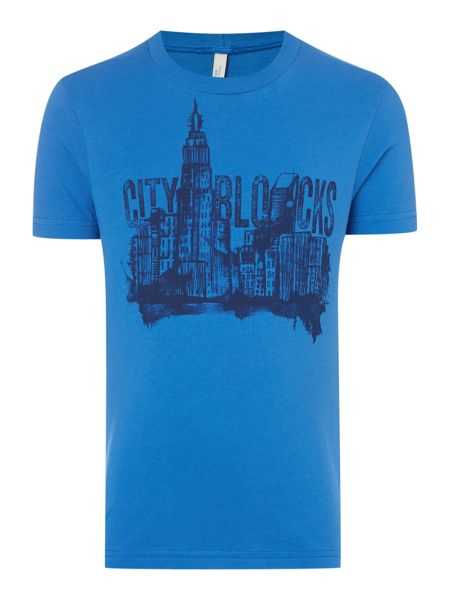Benetton Boys City graphic tee
