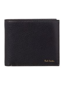 Paul Smith London Calf billfold leather with coloured internal