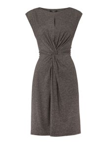 Therapy Skye Slub Knot Front Dress