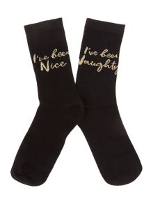 Fashion Logo Sock