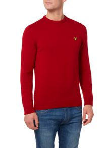 Lyle and Scott Lambswool Crew Neck Jumper