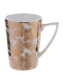 Biba Gold Feather Mug