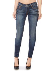 True Religion Casey skinny super T jean in boyfriends wash