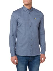 Lyle and Scott Mouline Oxford Long Sleeve Shirt