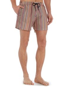 Paul Smith London Multistripe classic length swim shorts