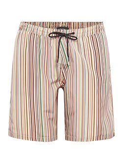 Men's Paul Smith London Multistripe long length swim