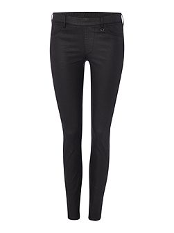 The runway legging jean in butter wash