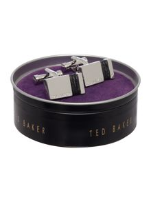 Ted Baker Wrapped leather wrap cufflink