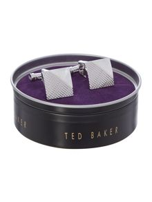 Ted Baker Edgy corner and lines cufflink