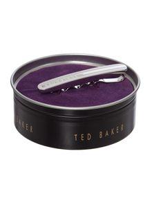 Ted Baker Hallen curved and rounded tie bar