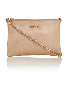 Lipsy Silver cross body bag