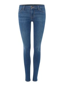 Levi's 710 Innovation super skinny jean in indigo mist